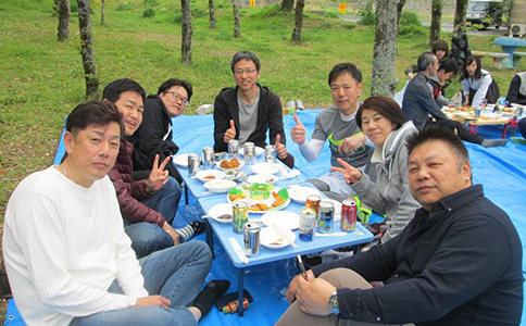 写真:創業記念式典&花見会